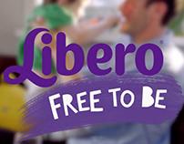 Libero Custom Font design