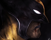 Masks & Heroes - Side Portraits.