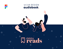 Easy Reads   Audiobook Concept   UI/UX