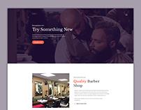 Barber Shop Landing Page