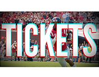 2017 Football Season Ticket Promos