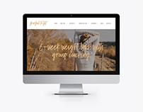 Wordpress Website Design for Health & Wellness Coach