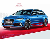 CGI Audi RS6
