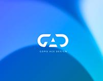 Gomo ace logo design