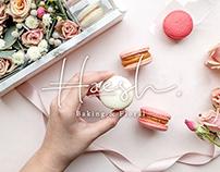 CIS + Packaging、Branding forHaeshBaking & Floral