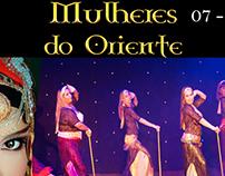 Festival Mulheres do Oriente - Covers das apresentações