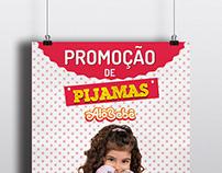 Banner - Promoção de Pijamas