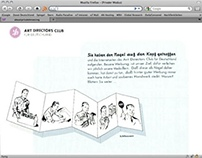 Art Directors Club of Germany. Website 1999.