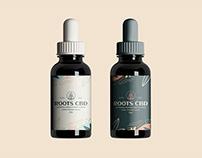 Roots CBD Branding Design.