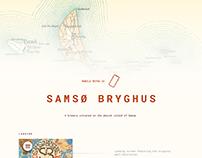 Samsø Bryghus Redesign