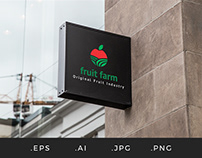 L009 - Fruit Farm Logo Template