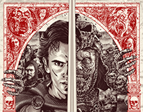 Army of Darkness Licensed Screen-Print