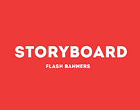 Graphic design for flash banners