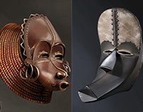 African masks Vol.1