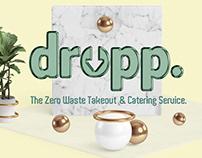 DROPP. The Zero Waste Delivery Service Branding