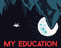 My Education - Gig Poster - Austin TX