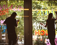 Hoxton Window Project: Talking Peace