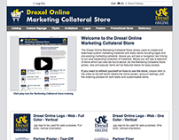 Drexel University Online Marketing Collateral Store