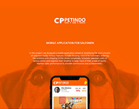 CP Pet Indo Mobile App Design