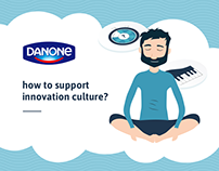 How to support innovation culture? Prints for Danone