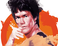 Bruce Lee Game of Death: Movie Poster and Cover