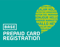 Base Prepaid Card Registration