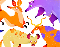 Animal Tiny Stickers