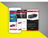 Bburago Ui Design/Mobile App