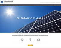 Empowered Energy Solutions Logo and Website Design
