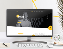 Ivanko Fitness Web - Idea & Copywriting