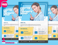 Corporate Business Flyer PSD Template