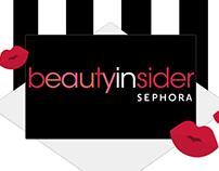Sephora Card: Artcile Infographics