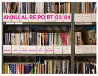 Belkin Art Gallery — Annual Report