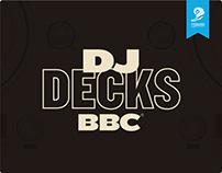 DJ Decks BBC-Young Lions Print 2020