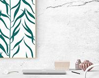 Leafy green designs