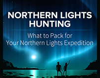 Northern Lights hunting - infographic