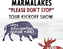MARMALAKES TOUR POSTER III