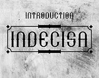 Indecisa Font