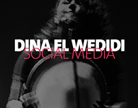 DINA EL WEDIDI - SOCIAL MEDIA