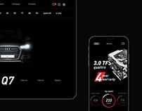 Audi - website concept