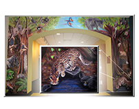 Sarris Jungle Mural
