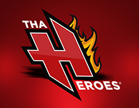 Tha Heroes - Logo