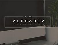 IT company landing page design