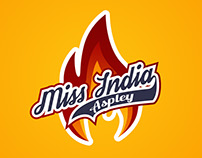 Miss India Aspley (Restaurant Logo Design)