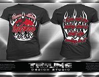 Flames Allstars Cheer-Inferno Tshirt