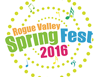 Rogue Valley SpringFest 2016 Event Logo +
