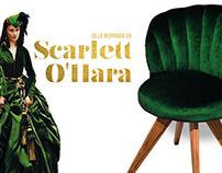 Silla Scarlett O'Hara