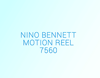 Nino Bennett Motion Reel 2016