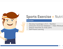 New Course Design Sport Exercise Storyline