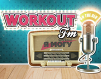 Animated opening WORKOUT Fm